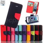 Flip Case Cover for iPhone 4 4s 5 5s 5c 6 6 Plus Leather Stand Wallet Card Slot