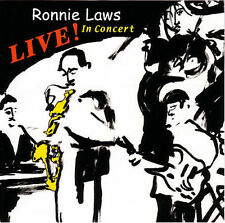 Ronnie Laws Live 8 song 2005 cd NEW! GREAT JAZZ MUSIC!!