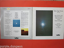 NEW Age Music 2-lp K. Schulze Tangerine Dream JM Jarre