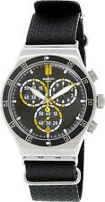 Swatch Men's Irony YVS422 Black Resin Swiss Quartz Watch