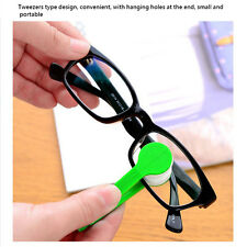 2PCS Lens Microfibre Optic Cleaner Glasses Spectacle Eyeglasses Cleaning Brush