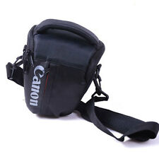 For Canon DSLR Rebel T5I T3i XTi Sling Camera Shoulder Bag Case Top-load Black