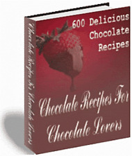 Chocolate, Cheesecake & Candy Recipes all on one CD