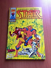 STAR MAGAZINE nr 24 STAR COMICS 92 MARVEL STAR BRAND CAPITAN BRETAGNA X-MEN