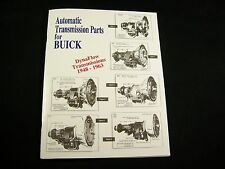 Buick Dynaflow Parts List Identification Guide OEM & Lempco Numbers 48-63 Manual
