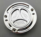 Chrome Keyless Fuel Tank Gas Cap For Honda CBR250RR CBR400RR RVF400 VFR400