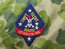 PATCH 1 st RECON BN US PERIODE VIETNAM