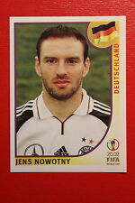PANINI KOREA JAPAN 2002 # 317 DEUTSCHLAND NOWOTNY WITH BLACK BACK MINT!!!