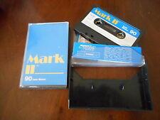 MARK II 90 Low Noise Tapes Kassetten 2 Stück Audiokassetten