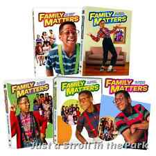 Family Matters: TV Show Complete Seasons 1 2 3 4 5 Box/DVD Set(s) Collection NEW