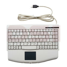 Solidtek Mini Ivory USB Keyboard with Touchpad KB-ACK540U