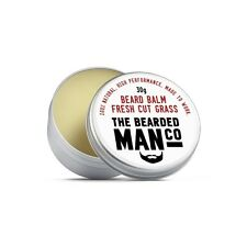 Beard Balm 30g Fresh Cut Grass Conditioner Conditioning Grooming Moisturiser