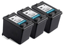 Recycled HP 56 ink (C6656AN) Black for HP OfficeJet 5510 6110 PSC 2410 3PK
