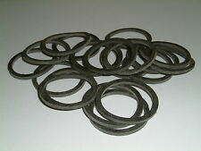 20 Rubber Washers 39mm O/D X 33mm I/D X 2.5mm Thk