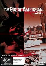 The Great American Snuff Film uncut  new Sealed region 4 dvd stock Perth