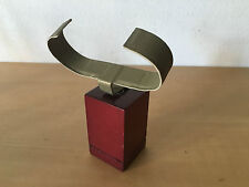 Used - Watch SUPPORT SOPORTE Reloj hor - Burdeos Wood - 3,7 x 3,7 x 6 cm - Usado
