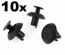 10x Toyota Engine Cover Clips- Plastic Trim Fasteners for Motor Shields & Panels