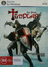 THE FIRST TEMPLAR (PC GAME - DVD-ROM) ACTION/ADVENTURE **Brand New & Sealed**