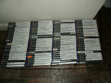 100x Boxed PS2 Playstation 2 Video Games Bundle Wholesale Joblot 100 Nice Mix