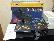 Capcom Power Stick Fighter boxed set Japan Super Famicom