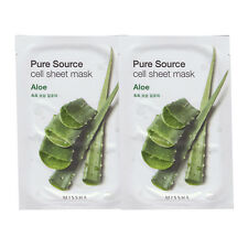 MISSHA Pure Source cell sheet mask Aloe 21g*2pcs - dodoshop
