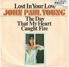"""3386-11  7"""" Single: John Paul Young - Lost In Your Love"""