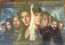 Percy Jackson 2pk Lightning Thief & Sea Of Monsters New Sealed Package