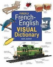 FIREFLY FRENCH-ENGLISH VISUAL DICTIONARY - NEW HARDCOVER BOOK