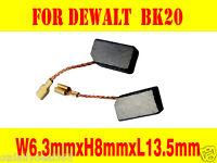 Carbon Brushes For Dewalt BK20 Grinder 6.3X8X13mm DW801 DW803 DW806 DW810 DW812