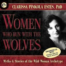 Women Who Run with the Wolves by Clarissa Pinkola Estés (2001, CD, Abridged,...