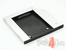 Media Bay Caddy Tray zweite Festplatte SATA HDD SSD Dell Precision M4700 M6700