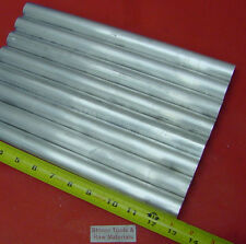 """8 Pieces 1"""" ALUMINUM 6061 ROUND ROD 13"""" LONG Solid T6511 1.000"""" Lathe Bar Stock"""