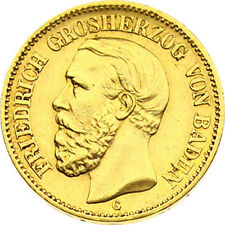 N233) J.189 BADEN 20 Mark 1894 Friedrich I. 1852–1907 Gold