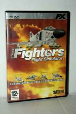 STRIKE FIGHTERS FLIGHT SIMULATOR GIOCO USATO PC DVD VERSIONE ITALIANA GD1 41423