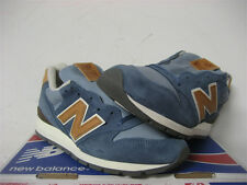 New Balance 996 Made in USA Blue Tan White Distinct Weekender Sz 7.5 M996DCC