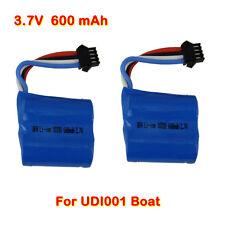 2pcs 3.7V 600mAh OEM Lipo Batterie Accessoire Pour UDI R/C UDI001 Boat Bateau