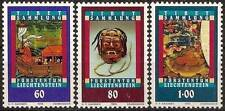 1993 LIECHTENSTEIN N°1002/1004** ART TIBETAIN / TIBETAN ART SET MNH