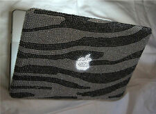 Diamante Bling Diamond macbook Air 13 13.3 inch Case Cover 2010 -2014 Zebra