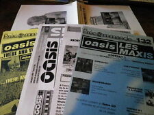 OASIS - Lot de 6 plans médias / Set of 6 press kits !!! STAND BY ME !!!