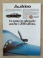 E840-Advertising Pubblicità-1986-AUDI 100