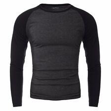 Men's INCERUN Fashion Casual Long Sleeve Crew Neck T-shirt Tee Tops Blouse