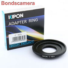 Kipon C mount 16mm lens to Sony E mount adapter NEX-5T 7 6 3N A6000 A5000 A3000