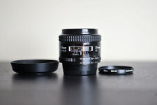 Nikon AF 35mm F2 Prime FX Lens w/ UV Filter!