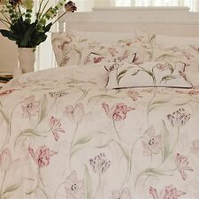 Kew Gardens Tulips luxury embroidered cushion cover