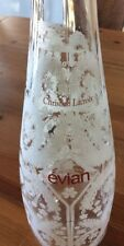 2008 Evian Christian Lacroix Collectible Water Bottle
