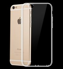 Apple iPhone 6+ 6s+ 6Plus 6sPlus Transparent Clear Soft Case TPU Rubber Case