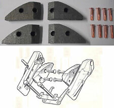 JAGUAR XK150       HANDBRAKE PADS SET   (1958- 61)