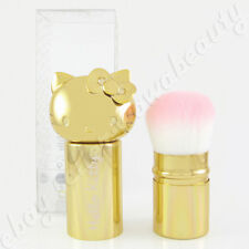 Sanrio Hello Kitty Retractable Kabuki Powder Makeup Brush Gold Limited Edition