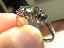 sterling 925 silver ring  alexandrite natural   size 5