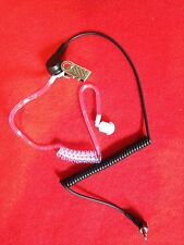 Clear Tube 3.5mm Listen Only Security Style Headset for Kenwood &  BAOFENG